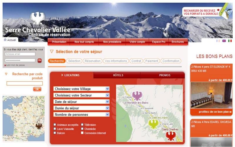 R servation serre chevalier vall e - Office du tourisme la salle les alpes ...
